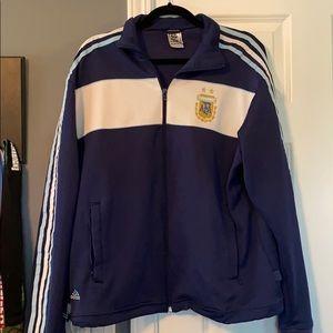Adidas Argentina World Cup Zip Up